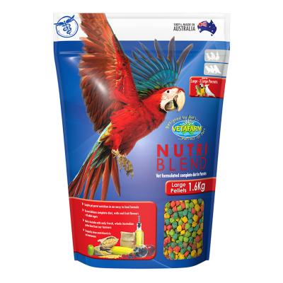 Vetafarm Nutriblend Pellets Large Complete Food For Large XLarge Parrot Birds 1.6kg