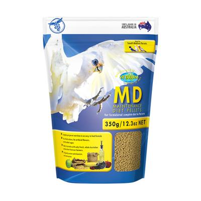Vetafarm MD Maintenance Diet Parrot Pellets Complete Food For Small Medium Parrot Birds 350gm