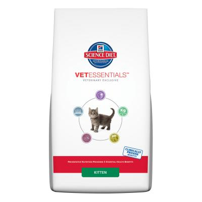 Hills Science Diet VetEssentials Kitten Dry Cat Food 2.5kg (8950HG)