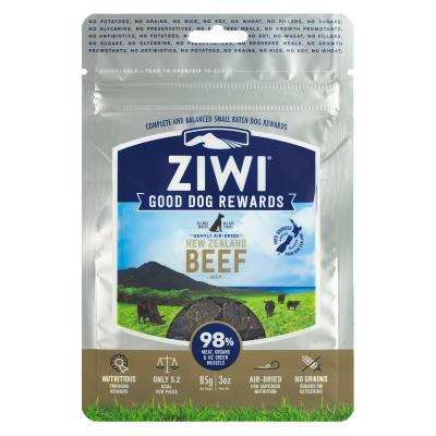 Ziwi Peak Good Dog Rewards Beef Air Dried Meat Treats For Dogs 85gm
