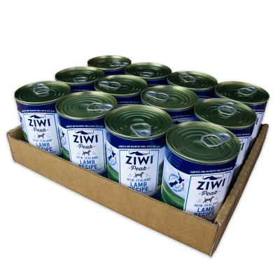 Ziwi Peak Grain Free Lamb Puppy And Adult Canned Wet Meat Dog Food 12 x 390gm