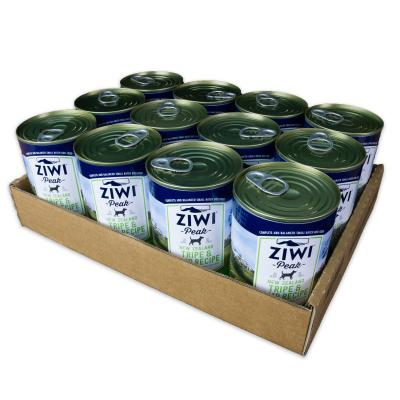 Ziwi Peak Grain Free Tripe And Lamb Puppy And Adult Canned Wet Meat Dog Food 12 x 390gm