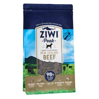 Ziwi Peak Grain Free Beef Puppy And Adult Air Dried Meat Dog Food 2.5kg