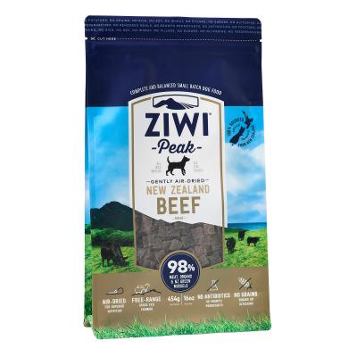 Ziwi Peak Grain Free Beef Puppy And Adult Air Dried Meat Dog Food 454gm