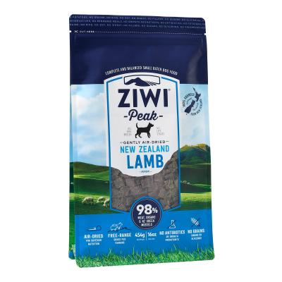 Ziwi Peak Grain Free Lamb Puppy And Adult Air Dried Meat Dog Food 454gm
