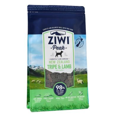 Ziwi Peak Grain Free Tripe And Lamb Puppy And Adult Air Dried Meat Dog Food 454gm