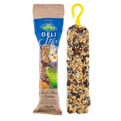 Vetafarm Delistix Small Parrot Perfection Fruit Nuts And Seed Treat Bar Stick For Birds 100gm Single