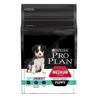 Pro Plan Optidigest Sensitive Digestion Medium Breed Puppy Dry Dog Food 12kg