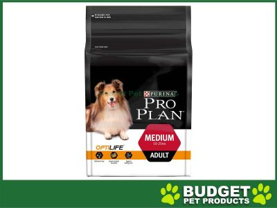 279eed2f8ba75  82.25 Pro Plan Optilife Chicken Medium Breed Adult Dry Dog Food 2.5kg