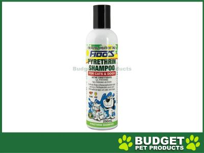 Fidos Shampoo Pyrethrin For Dogs And Cats 250ml