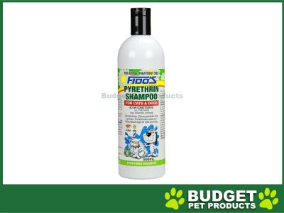 Fidos Shampoo Pyrethrin For Dogs And Cats 500ml