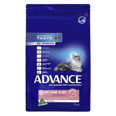 Advance Fish 8+ Mature/Senior Dry Cat Food 3kg