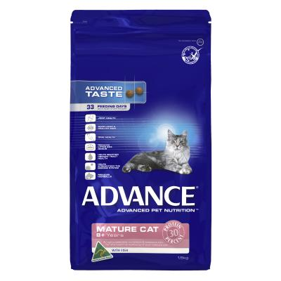 Advance Fish 8+ Mature/Senior Dry Cat Food 1.5kg