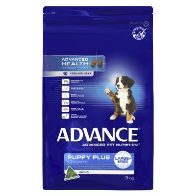 Advance Puppy Plus Growth Large Breed Chicken Dry Dog Food 3kg