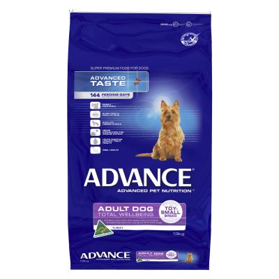 Advance Toy/Small Breed Turkey And Rice Adult Dry Dog Food 13kg