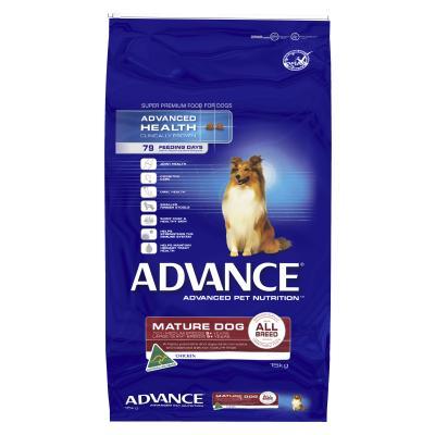 Advance All Breed Chicken Mature/Senior Dry Dog Food 15kg