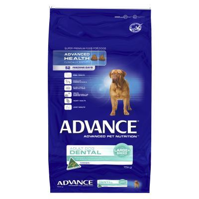 Advance Dental Large/Giant Breed Chicken Adult Dry Dog Food 15kg