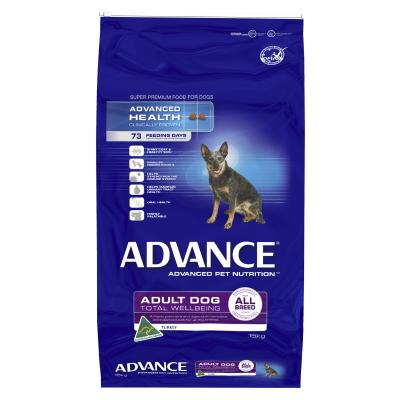 Advance All Breed Turkey And Rice Adult Dry Dog Food 15kg