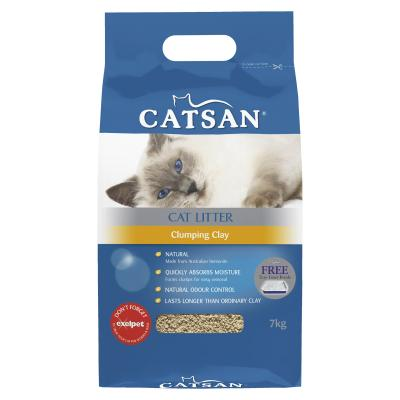 Catsan Clumping Clay Litter For Cats 7kg