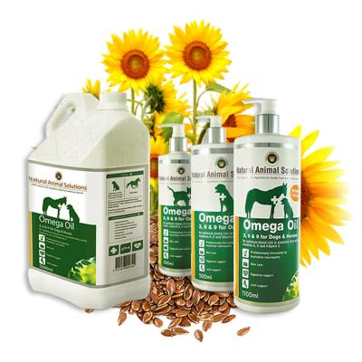 Natural Animal Solutions (NAS) Omega 3,6 & 9 Oil For Dogs And Horses 500ml
