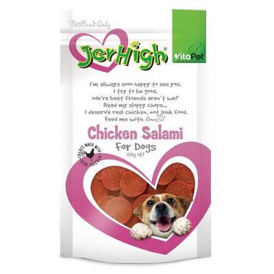 Vitapet JerHigh Chicken Salami Treats For Dogs 100gm