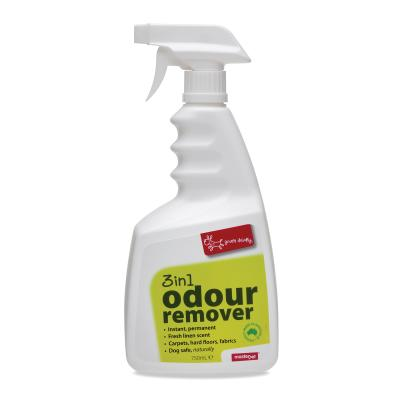 Yours Droolly 3in1 Air Freshener Odour Remover Air Hard And Soft Surfaces For Dogs 750ml