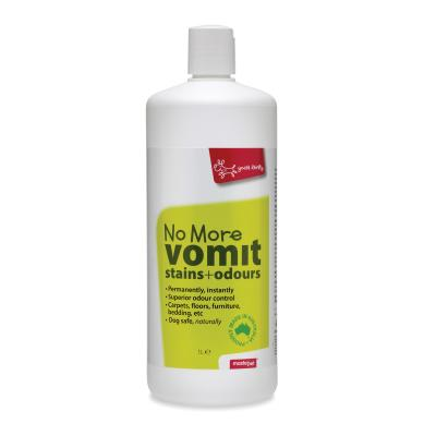 Yours Droolly No More Vomit Stains And Odour Remover Cleaner For Dogs 1Litre