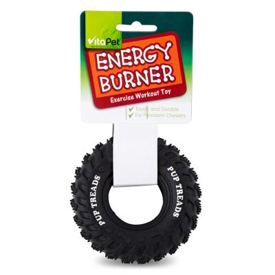 Vitapet Energy Burner Rubber Puppy Tyre Small Dog Toy