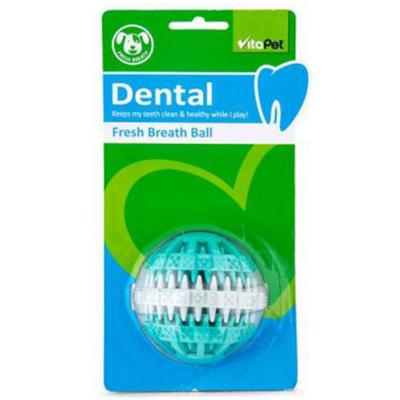 Vitapet Fresh Breath Rubber Ball Toy For Dogs