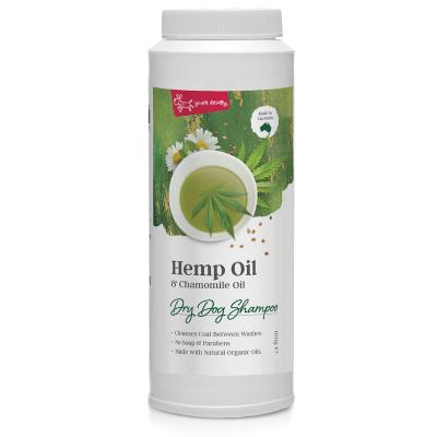 Yours Droolly Hemp And Chamomile Oil Dry Shampoo For Dogs 100gm