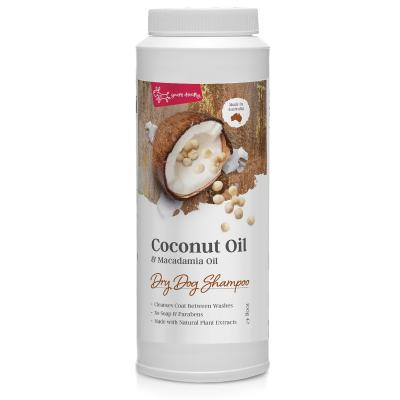 Yours Droolly Coconut And Macadamia Oil Dry Shampoo For Dogs 100gm