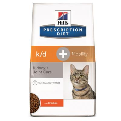 Hills Prescription Diet Feline k/d + Mobility Dry Cat Food 2.89kg (10859)