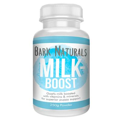 Bark Naturals Milk Boost Goat Milk Powder New Born Puppies For Dogs 250gm