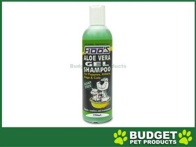 Fidos Shampoo Aloe Vera Gel For Dogs And Cats 250ml