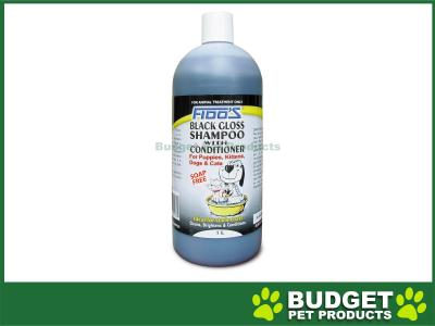 Fidos Shampoo Black Gloss For Dogs And Cats1L
