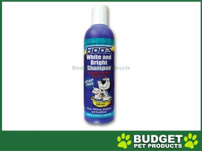 Fidos Shampoo White And Bright For Dogs And Cats  250ml