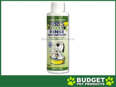 Fidos Rinse Concentrate Herbal For Dogs And Cats 250ml