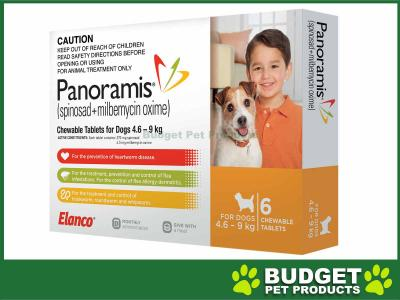 Panoramis (Comfortis Plus) For Dogs Orange 4.6-9kg 6 Pack