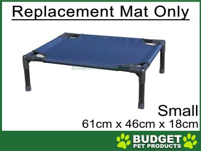 Trampoline Flash Pet Bed Replacement Mat Blue For Small