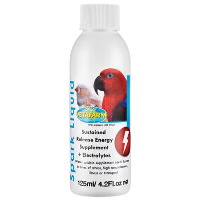 Vetafarm Spark Liquid Electrolyte Concentrate For Birds 125ml