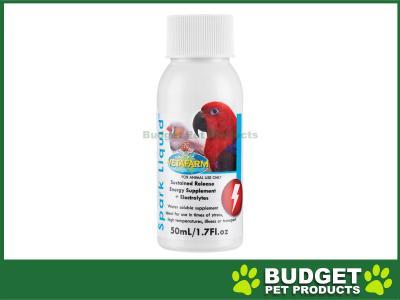 Vetafarm Spark Liquid Electrolyte Concentrate For Birds 50ml