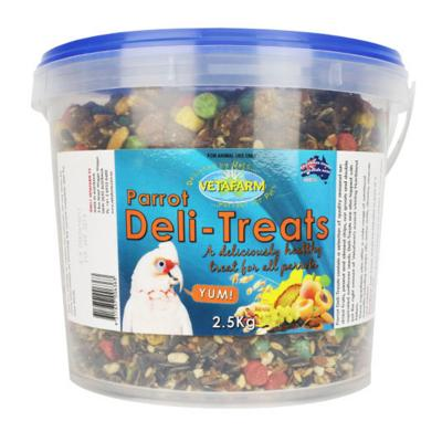 Vetafarm Parrot Deli Treats For Birds 2kg