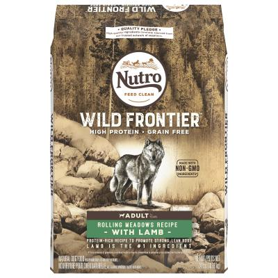 Nutro Wild Frontier Rolling Meadows Lamb Grain Free High Protein Adult Dry Dog Food 10.9kg