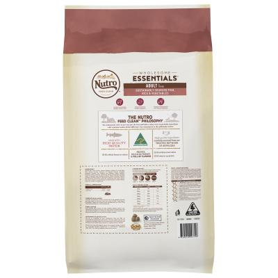 Nutro Wholesome Essentials Sustainably Sourced Fish Rice And Vegetables Adult Dry Dog Food 15kg