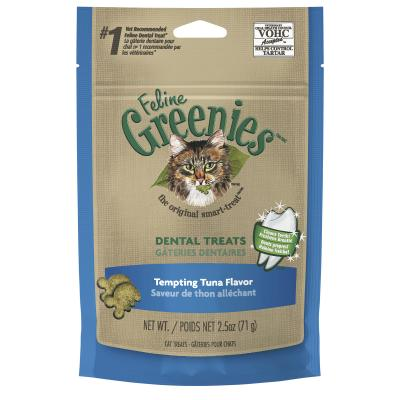 Greenies Feline Dental Treats Tuna Flavour For Cats 71g