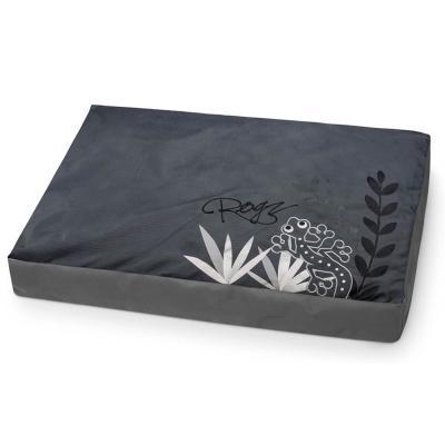 Rogz Comfy Cushion Grey Gecko Medium Bed For Dogs