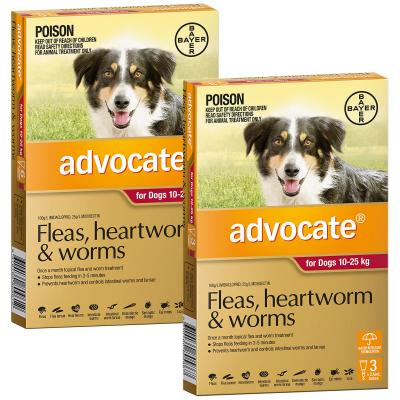 Advocate For Dogs Large Red 10-25kg 9 Pack