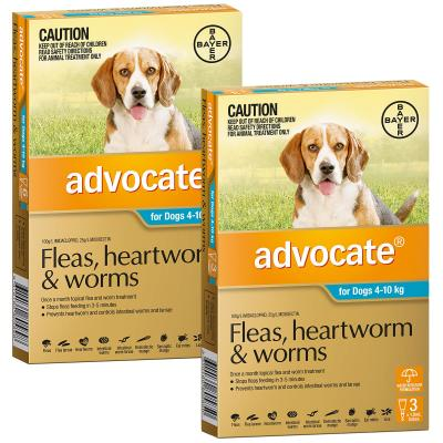 Advocate For Dogs Medium Blue 4-10kg 9 Pack