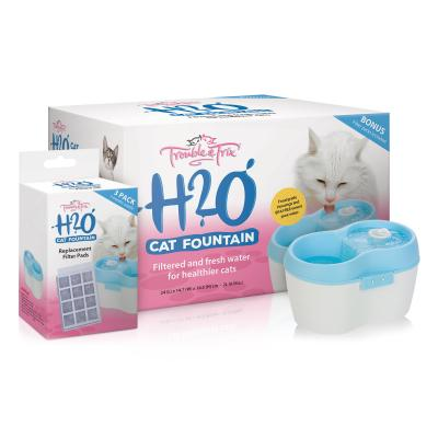 Trouble & Trix Cat Water H2O Fountain 2Lt