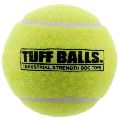 Tuff Giant Tennis Ball Nonabrasive Felt Toy For Dogs 10cm 1Pack